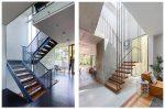 Дизайн лестниц в коттеджах – Лестницы в частных домах. Виды и особенности. Дизайн лестничных пролетов в коттеджах