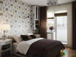 Дизайн маленькой двухкомнатной квартиры 40 45 метров – Дизайн однокомнатной квартиры 40 кв метров, перепланировка однушки в двушку, как обыграть несущие колонны, элементы дизайна в средиземноморском стиле, дизайнер Никита Зуб