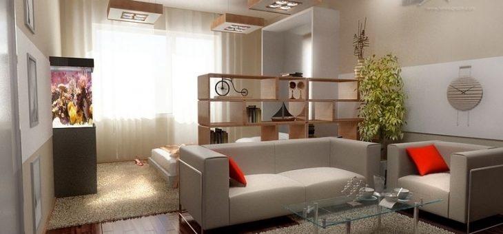 Дизайн однокомнатная квартира с двумя детьми – дизайн пространства для семьи с ребенком, как разделить перегородкой, как обустроить, идеи интерьера, какой ремонт