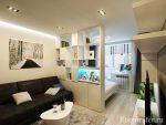Дизайн однокомнатной квартиры 40 м с совмещенной кухней – современные примеры ремонта и обустройства интерьера, проект планировки квартиры-студии