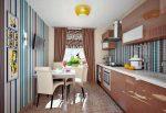 Дизайн оклейки обоями кухни – Дизайн кухни — какой цвет обоев выбрать для кухни? Основные правила подбора расцветки обоев для кухни, фото