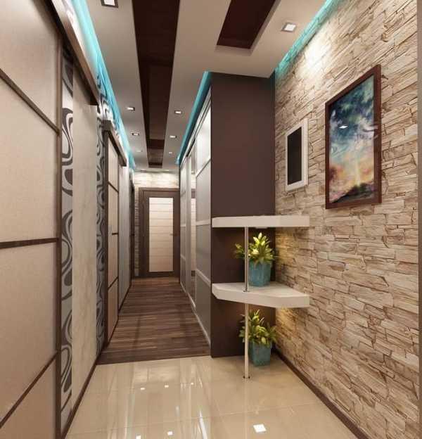 Как красиво сделать коридор фото 511