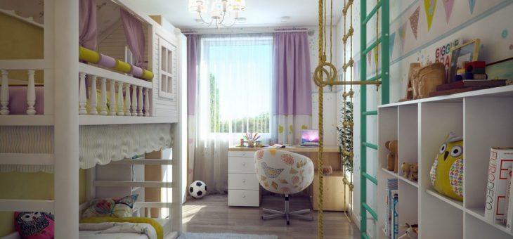 Дизайн прямоугольной детской комнаты – Дизайн детской комнаты для девочки и мальчика: советы и фото примеров