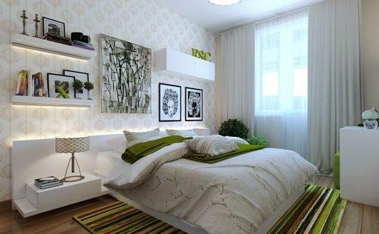 Дизайн спальни маленькой комнаты – зонирование, выбор дизайна и планировки, фото удачно оформленных интерьеров маленьких спален в стиле прованс, классика, минимализм