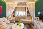 Дизайн спальни с детской – фото дизайна интерьера, сделать комнату с окном, комплекс для взрослого ребенка, принадлежности