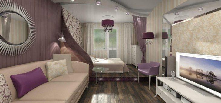 Дизайн спальня гостиная 18 кв м – идеи в интерьере однокомнатной квартиры, создаем дизайн-проект по совмещению