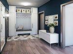 Дизайн стен в прихожей в фото – варианты дизайна коридора в квартире с нишей, чем отделать, цвет стен и декор, оформление, покраска и ламинат на стене