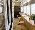 Дизайн узкого балкона – Дизайн узкой лоджии и балкона: решаем проблему пространства