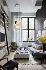 Дизайн узкой комнаты с окном – идеи-2018 оформления интерьера прямоугольной спальни с балконом площадью 12 кв м