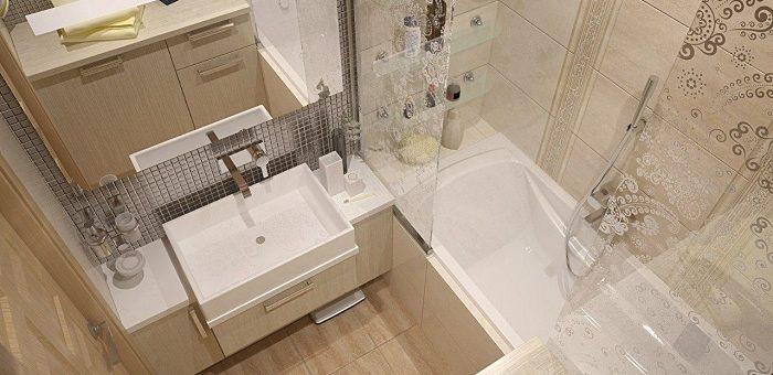 Дизайн ванная комната 180 на 180