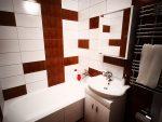 Дизайн ванной комнаты без туалета в панельном доме фото