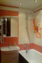 Дизайн ванной комнаты раздельной – Раздельный санузел планировка, ремонт в ванной и туалете, идеи дизайна санузла , ремонт санузла в брежневке, современная ванная комната люстра, керамическая плитка в ванную, санузел переделка