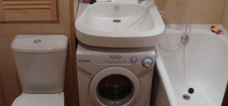Дизайн ванной комнаты со стиральной машиной – Дизайн ванной в хрущевке со стиральной машиной: советы от профессионалов
