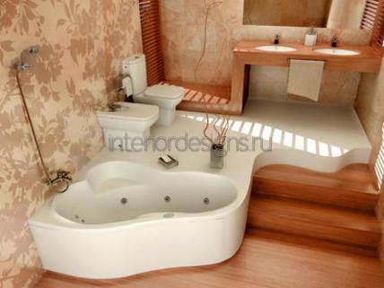 Дизайн ванной с джакузи – Ванная с джакузи — идеи дизайна и интерьера, фото и рекомендации от InteriorDesigns.ru