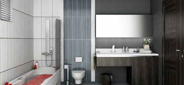 Дизайн ванной в панельном доме – Дизайн ванной комнаты и туалета: в панельном доме, маленького размера в квартире — хрущевке, с душевой кабиной, фото