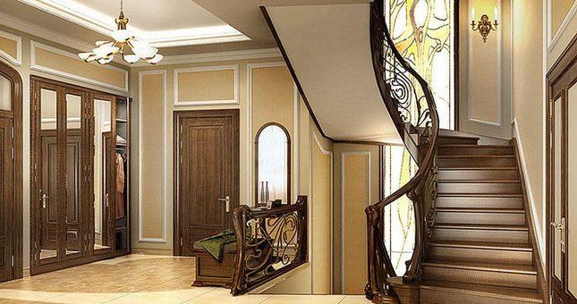 Дизайн холла на втором этаже в частном доме фото – Дизайн интерьера лестничного холла в многоуровневой квартире и частном доме с фото и вариантами оформления