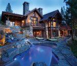 Дом из камня фото – Комбинированные дома из камня и дерева (51 фото): проекты, преимущества, особенности строительства