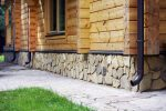 Дом обшить под камень – фото, укладка дикого камня, рваного, песчаника, цсп с каменной крошкой, гипсовый камень, видео инструкция по облицовке цоколя своими руками
