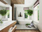 Душевая комната дизайн фото в частном доме