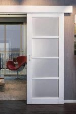 Дверь выкатная из стены – механизм стеклянных дверей вдоль стены, роликовая система конструкции с зеркалом