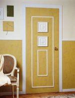 Двери дизайн своими руками – дизайн межкомнатных моделей в квартире, оформление, украшение и декорирование конструкций своими руками