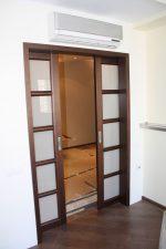 Двери межкомнатные одностворчатые раздвижные – двустворчатая, одностворчатая, скрытая, фото в интерьере, установка своими руками » VeryDveri.ru