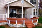 Фасад крыльца – оформление входа частного дома, отделка конструкции с высоким фундаментом, как правильно оформить и обустроить крылечко