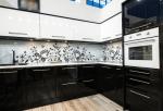Фото белая с черным кухня фото