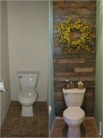 Фото декор в туалете