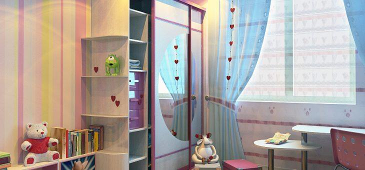 Фото детской комнаты для девочки 5 лет фото