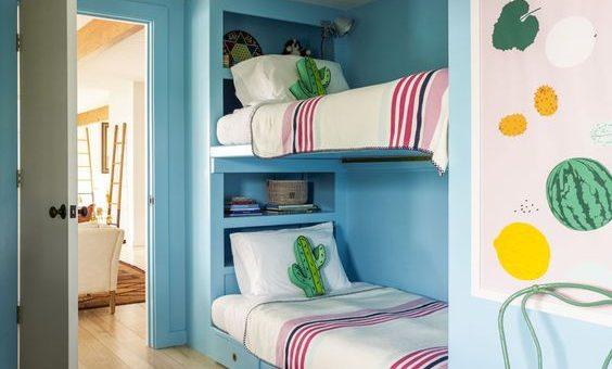 Фото детской комнаты с двухъярусной кроватью фото