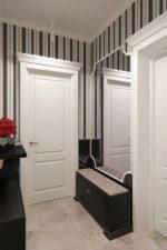 Фото дизайн прихожей в малогабаритной квартире – дизайн 2018 в малогабаритной квартире, реальные примеры интерьера коридора маленьких размеров, идеи оформления в современном стиле