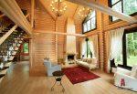Фото дом в стиле кантри фото – Проекты частных интерьеров домов в стиле кантри фото – ArchRevue.ru