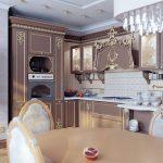 Фото элитная кухня – Элитные кухни купить в Москве на заказ — дорогая мебель для кухни от производителя