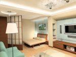 Фото интерьеры 1 комнатных квартир