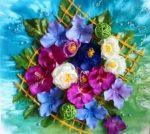 Фото картины из искусственных цветов своими руками – Как сделать декоративное панно на стену из цветов 🚩 картины из искусственных цветов своими руками 🚩 Дизайн