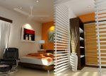 Фото комната с перегородкой – Перегородки для зонирования пространства в комнате: разновидности, материалы, варианты дизайна