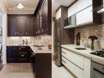 Фото кухни цвет – Коричневая кухня — 80 фото красиво оформленного интерьера кухни с коричневым оттенком