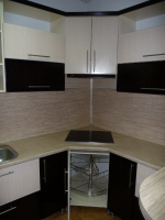 Фото кухни с варочной панелью в углу – варочная панель в углу — как поставить варочную панель в углу — запись пользователя Катя (Solariska) в сообществе Дизайн интерьера в категории Интерьерное решение маленькой кухни