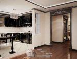 Фото кухни в панельном доме – Дизайн интерьера кухни в стандартной маленькой квартире: в однокомнатной, в панельном доме п 44, с балконом, в студии. Дизайн интерьера в частном загородном доме.