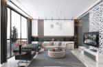 Фото квартир после ремонта однокомнатных – Дизайн однокомнатной квартиры — 150 фото идей оформления современного дизайна интерьера