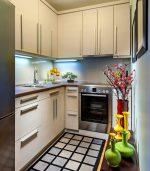 Фото маленькая красивая кухня