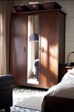 Фото платиновый шкаф – что это, выбираем белые и черные трехстворчатые модели для одежды, размеры одностворчатого варианта для небольшой спальни