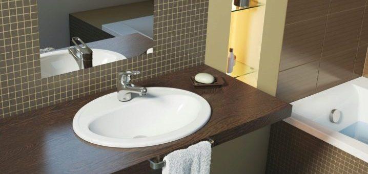 Фото раковины для ванной – навесной умывальник над ванной для экономии места в «хрущевке», идеи дизайна ванной комнаты с полкой и нависающей над ванной раковиной, отзывы