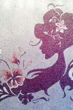 Фото рисунки для жидких обоев – трафареты для рисования дерева и цветов на стене, как делать красивые эскизы, примеры в интерьере