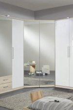 Фото шкафов угловых в спальню фото – дизайн-идеи и размеры, маленький или большой для одежды, белый или черный, как выбрать