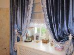 Фото шторы с кружевом