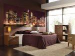 Фотообои на стену для спальни – Фотообои в интерьере спальни — с цветами, с изображением города, для подростка, на одну стену, в молодежном стиле, 109 фото, цены
