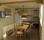 Гостиная кухня на даче дизайн фото – Дизайн интерьера летней кухни на даче: декор, идеи, удобства, фото. Интерьер маленькой кухни и кухни гостиной