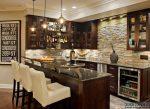 Гостиная с барной стойкой и кухней – Барная стойка в гостиной: оригинальные дизайнерские решения. Освещение барных стоек
